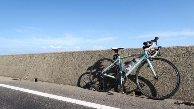 初!ロードバイクで150キロ走破!