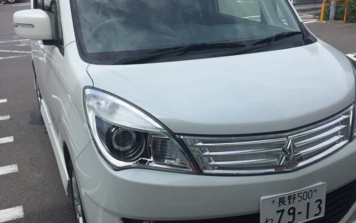 車の車検に行ってきました、、、長野に!