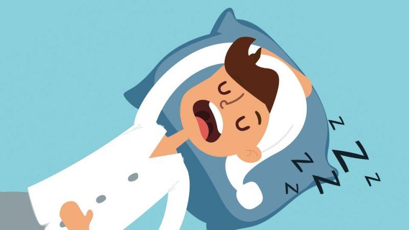 疲れには睡眠が一番!